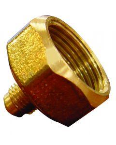 3/4 Mpt 1/4 Flare Brass Bottle Adaptor