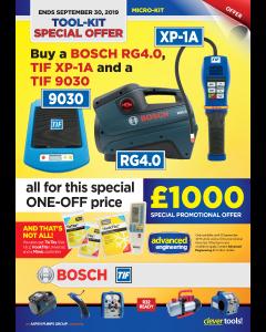 Micro-Kit Tools Bundles, Bosch RG4.0, TIF XP-1A, TIF9030