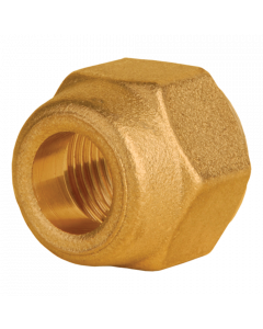 1/4 inch Brass Copper Pipe Joining Flare Nut