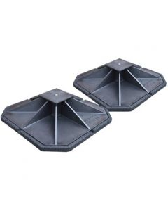 Big Foot B9101 Mounting Platform Set of Two - 450mm Flat Top