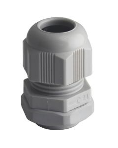 Cable Glands With Lock Nut 20Mm Grey X 10