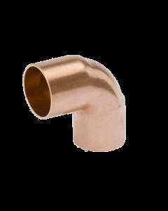 Short Radius 90 Degree Copper Elbow 7/8 C235-0100