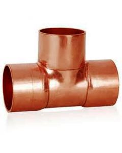 Refrigeration Copper Tee Piece 3/8 C460-0002