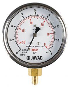 Javac 0-40 Torr Absolute Vacuum Gauge
