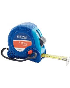 Draper 75299 Soft Grip Tape Measure 5m 16 ft 19mm Wide