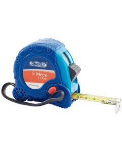 Draper 75299 Soft Grip Tape Measure 5m 16 ft 19mm Wide
