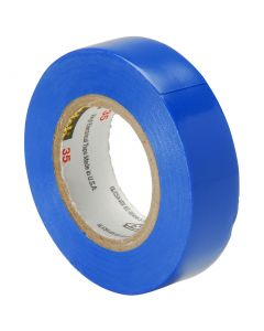 Electrical Insulation Tape Blue 33m x 19mm