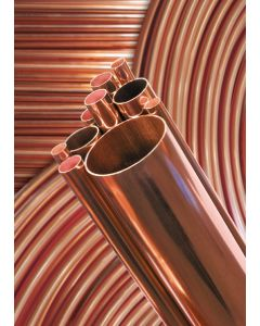 Refrigeration Grade 3/8 X 20 Swg 0.032 Thick X 3m Copper Tube