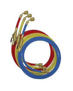 Mastercool 49262-72 Refrigerant Hose Set With Shut Off Valves.
