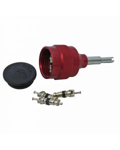 Mastercool 90376 Valve Core Removal Kit With 6 Valve Cores