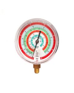 Mastercool MBH Gauge 80mm High Side Pressure Bat/C R22-134a-404/7-5