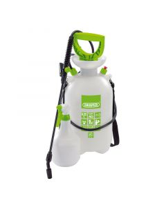 Draper 82464 Pressure Sprayer (6.25ltr) with Mini Sprayer (900ml)