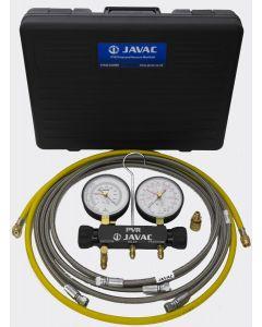 Javac PVRSET Nitrogen Pressure and Vacuum Manifold Set