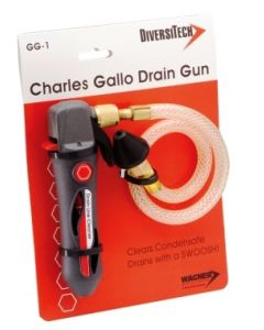Charles Gallo Drain Gun for clearing A/C Condensate Lines