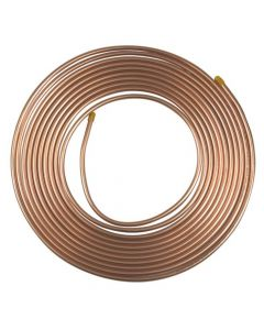 Air Conditioning Copper Tube 6.4mm 1/4 inch 6 metre coil Refrigeration Grade